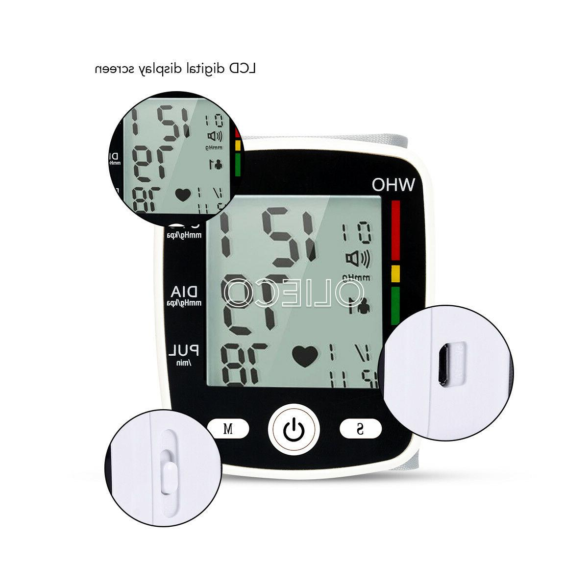 Digital Pressure Monitor Health Care Automatic Blood US