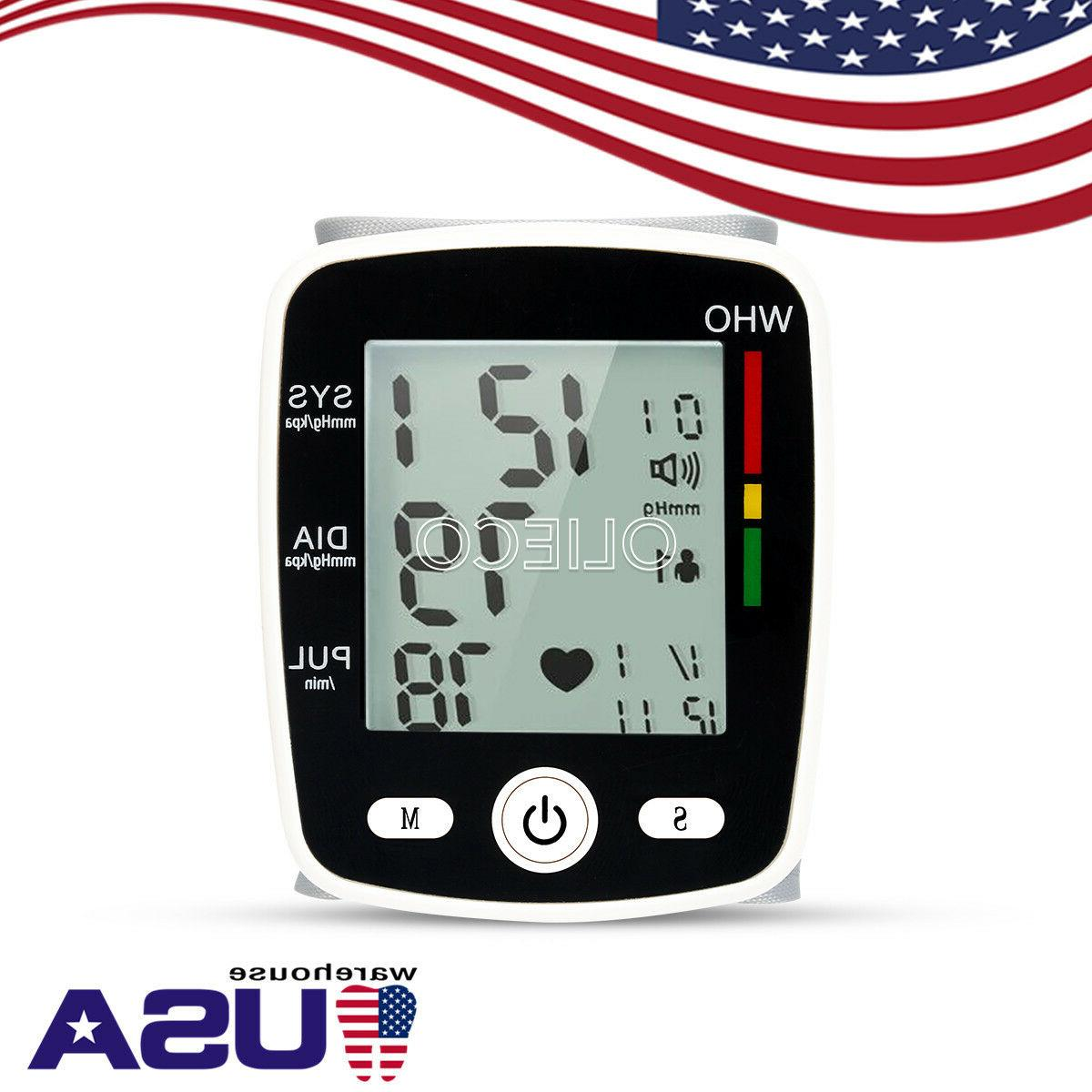 Digital LCD Pressure Monitor Automatic Blood