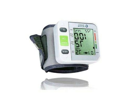 genuine wrist automatic blood pressure pulse monitor