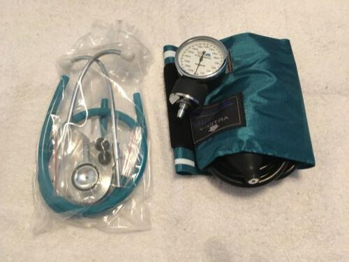 Mabis Healthcare Monitoring Testing Blood Pressure Kit Cuff Stethoscope