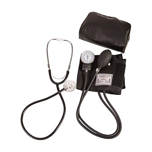 HealthSmart Professional Blood Pressure and Cuff, Reliable Black