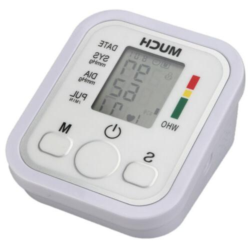 New Automatic LCD Arm Blood Pulse Monitor