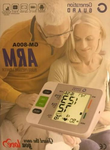 new clinical automatic upper arm blood pressure