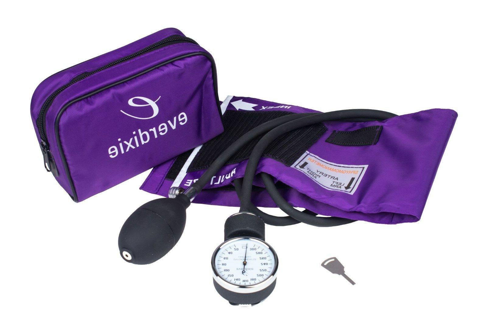 New PURPLE Cuff Kit With Matching Seperate Stethoscope