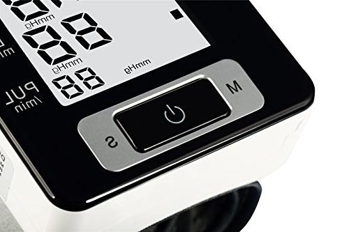 Fam-health Portable Pressure Approved with Display, User Modes, Wrist Cuff,IHB and Memory Recall