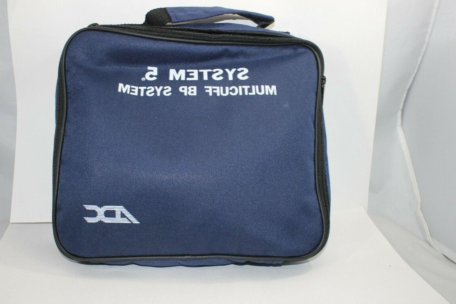 ADC System 5 Multicuff Blood Pressure Cuff Set System Navy 9