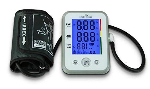 Digital Arm Pressure with Hypertension display approved for OTC, Indicator, Mode, 2 Warranty