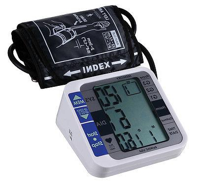 GoWISE USA Arm Blood Pressure Monitor with & Irregular FDA Approved