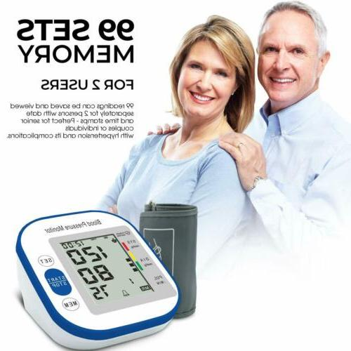 Automatic Monitor BP Cuff Heart Rate