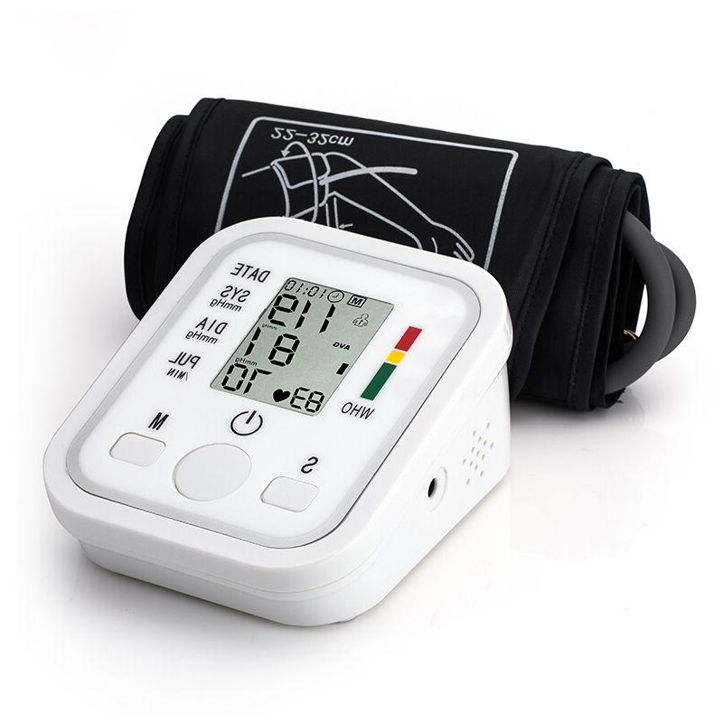 Upper Arm Blood Pulse Care Digital LCD