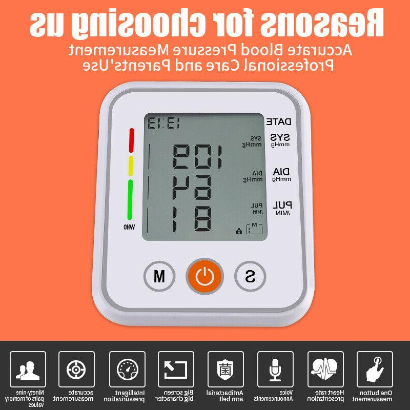 Upper Arm Digital Blood Monitor BP Machine