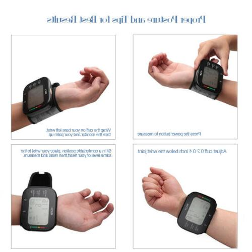 US Wrist Blood Pressure Cuff Kit