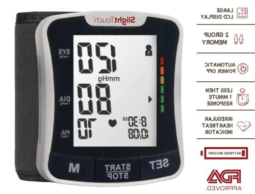 wrist blood pressure monitor automatic