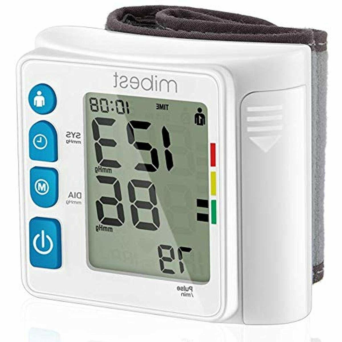 Wrist Blood Pressure - with Case Memory