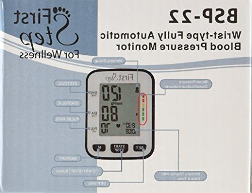 First Step For Blood Monitor-bp, Rate, Digital, Home Professional-with and Small