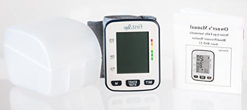 Blood Heart Rate, Automatic, Portable, Home and Small Wrists-Simple
