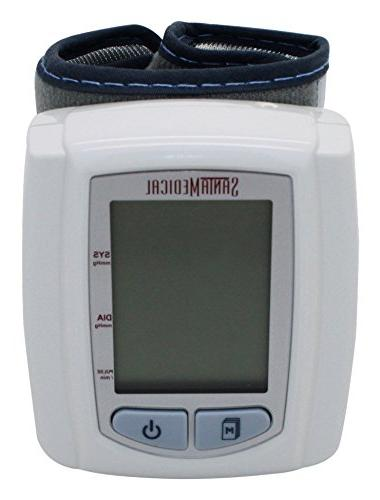 Santamedical Wrist pressure Monitor Case - Large Display
