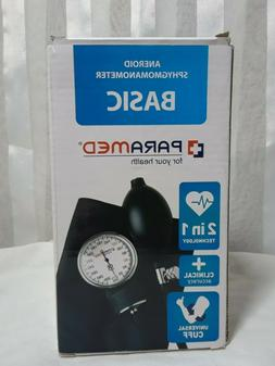 Manual Blood Pressure Cuff by PARAMED  BASIC Aneroid Sphygmo