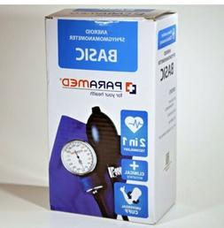 Manual Blood Pressure Cuff by PARAMED – BASIC Aneroid Sphy