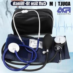 manual blood pressure monitor bp cuff aneroid