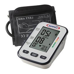 Upper Arm Blood Pressure Monitor with Large Adult Cuff