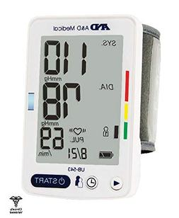 A&d Medical Wrist Blood Pressure Monitor With Large Display