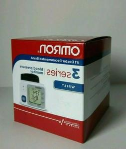 New ☀ Omron 3 Series BP629 Wrist Blood Pressure Monitor