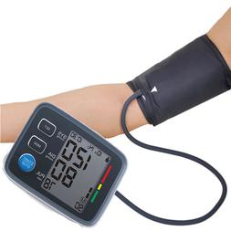 New Automatic Digital LCD Arm Cuff Blood Pressure Pulse Moni