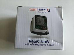 New Paramed Automatic Digital Wrist Blood Pressure Monitor B