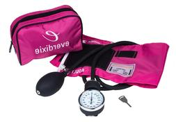 New Pink Adult BP Cuff Blood Pressure Kit With Matching Sepe