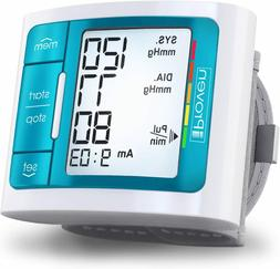 NEW iProven Wrist Blood Pressure Cuff w Backlight, 60 Readin