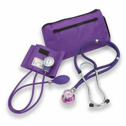Professional Dual Head Sprague Stethoscope w Manual Blood Pr