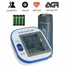 Rechargeable Automatic Digital Arm Blood Pressure Monitor w/