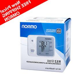Omron RS2 Wrist Blood Pressure Monitor With Cuff Wrapping Gu