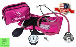Stethoscope And Manual Adult Blood Pressure Cuff Kit and Dua