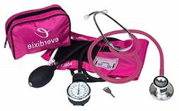 stethoscope and manual adult blood pressure cuff