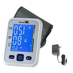 Zewa Upper Arm Blood Pressure Monitor with Two User Mode , T