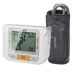 EBL Upper Arm Blood Pressure Monitor with Cuff  - Large Disp