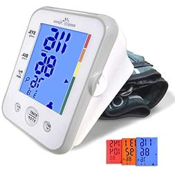 Easy@Home Digital Upper Arm Blood Pressure Monitor  with 3-C