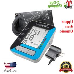 Upper Arm Care Touch Blood Pressure Monitor with AC Adapter