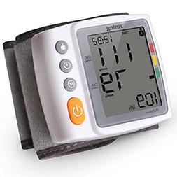 Digital Wrist Blood Pressure Monitor with Heart Rate Detecti