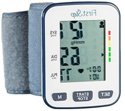 First Step For Wellness-Wrist Blood Pressure Monitor-bp, Hea