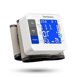 wrist blood pressure monitor by automatic blood