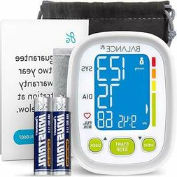 Wrist Blood Pressure Monitor High Accuracy Readings Travel B