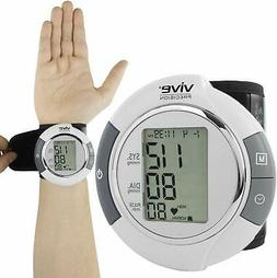 Vive Precision Wrist Blood Pressure Monitor - Automatic Digi